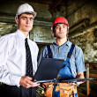 Stock Photo: Two workers