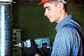 Trabajo del martillo — Foto de Stock