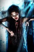 Moonlight zombi — Stock Photo