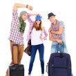 Suitcases travel — Stock Photo #19836609