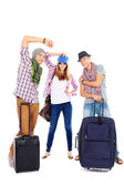 Suitcases travel — Stock Photo