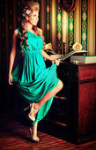 Alluring lady — Stock Photo