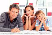 Son parents — Stock Photo
