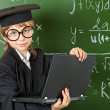 Academic boy - Stock Photo