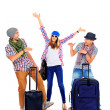Vacation with friends — Stock Photo #20907403