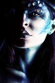 Ritratto di lucifero — Foto Stock
