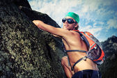 Alpinism — Stock Photo