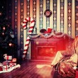 Objects of xmas — Stock Photo #21597063