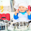 Baby nutrition — Stock Photo
