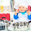 Stock Photo: Baby nutrition