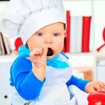 Boy eating — Stock Photo #21765495