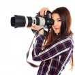 Digital camera — Stock Photo #21777475