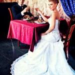 Luxurious dress — Stock Photo