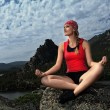 Yoga and nature - Stock Photo