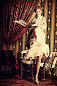 Sukienka ruchu — Zdjęcie stockowe