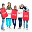 Winter sale — Stock Photo #22593171
