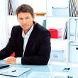 Foto Stock: Skilled businessman