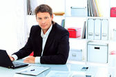 Skilled businessman — Stock Photo