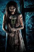 Romantic zombie — Stock Photo
