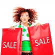 Flying sale — Stock Photo #23178716