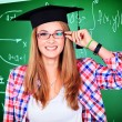Degree education — Stock Photo