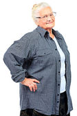 Healthy granny — Stock Photo