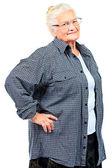 Healthy granny — Stock Photo