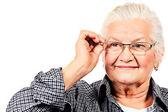 Cuidar da visão — Fotografia Stock
