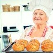 Stock Photo: Grandmas biscuits