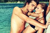 Passionerade par — Stockfoto