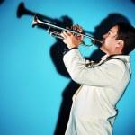 Trumpeter — Stock Photo #24126371