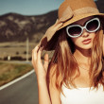 Retro sunglasses — Stock Photo #24329179