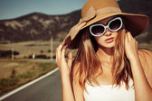Retro sunglasses — Photo