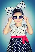Retro sluneční brýle — Stock fotografie