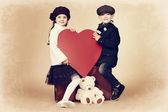Sweet children — Stock Photo