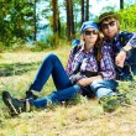 Couple resting — Stock Photo #24490331