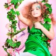 Little fairy — Stock Photo
