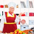 Senior cook - Stock Photo