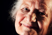 Old age happiness — Stock Photo