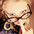 Fun glasses — Stockfoto