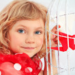 Smiling child - Stockfoto