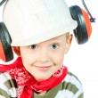 Stock Photo: Funny builder