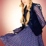 robe violette — Photo