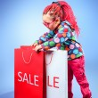 Shopping childhood — Stock Photo