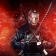 Stock Photo: Warrior kendo