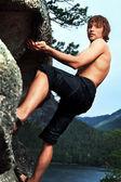 Alpinist — Stock Photo