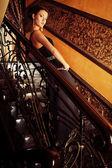 Openwork railing — Stock Photo