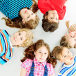 Circle of children — Stock Photo