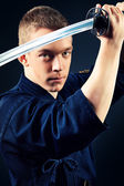 Katana man — Stock Photo