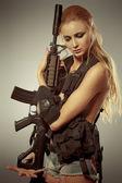 Arma de defensa — Foto de Stock